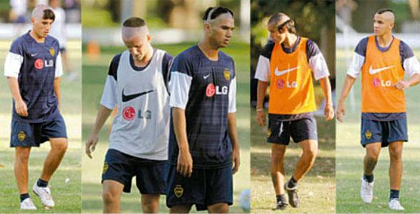 Novatadas en Boca Juniors