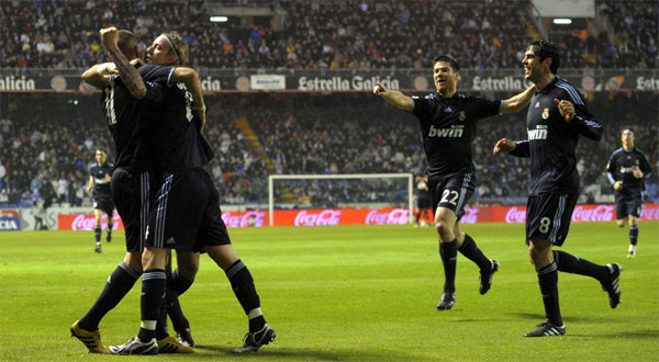 Deportivo 1-3 R.Madrid
