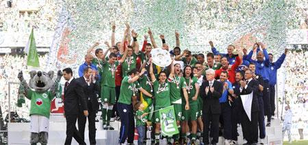Wolfsburgo, campeón histórico