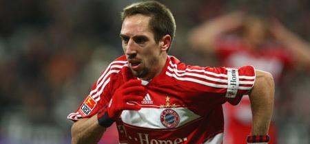 Ribéry no ha entrenado hoy