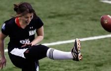 ¿Una mujer en la NFL?