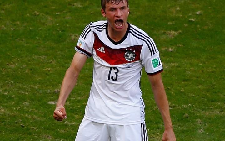 Thomas Müller y el rodillo alemán