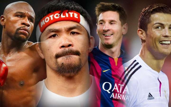 Los deportistas mejor pagados: Mayweather y Pacquiao superan a Cristiano Ronaldo y Messi